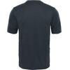 The North Face Reaxion Amp Crew Hardloopshirt korte mouwen Heren grijs